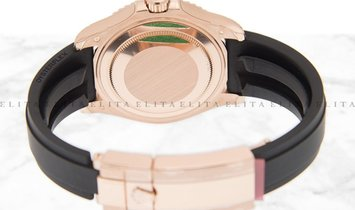 Rolex Yacht Master 37 268655-0013 18K Everose Gold with Diamond Paved Dial and Oysterflex Bracelet