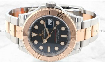 Rolex Yacht Master 40 126621-0002 Oystersteel and Everose Gold  with Black Dial