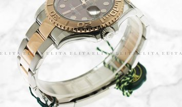 Rolex Yacht Master 40 126621-0001 Oystersteel and 18K Everose Gold Chocolate Dial