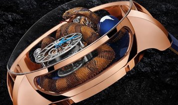 Jacob & Co. 捷克豹 [NEW MODEL] Astronomia Cobra Tourbillon