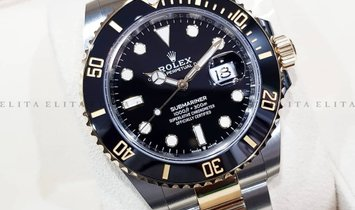 Rolex Submariner Date 126613LN-0002 Oystersteel and 18K Yellow Gold Black Ceramic Bezel Black Dial