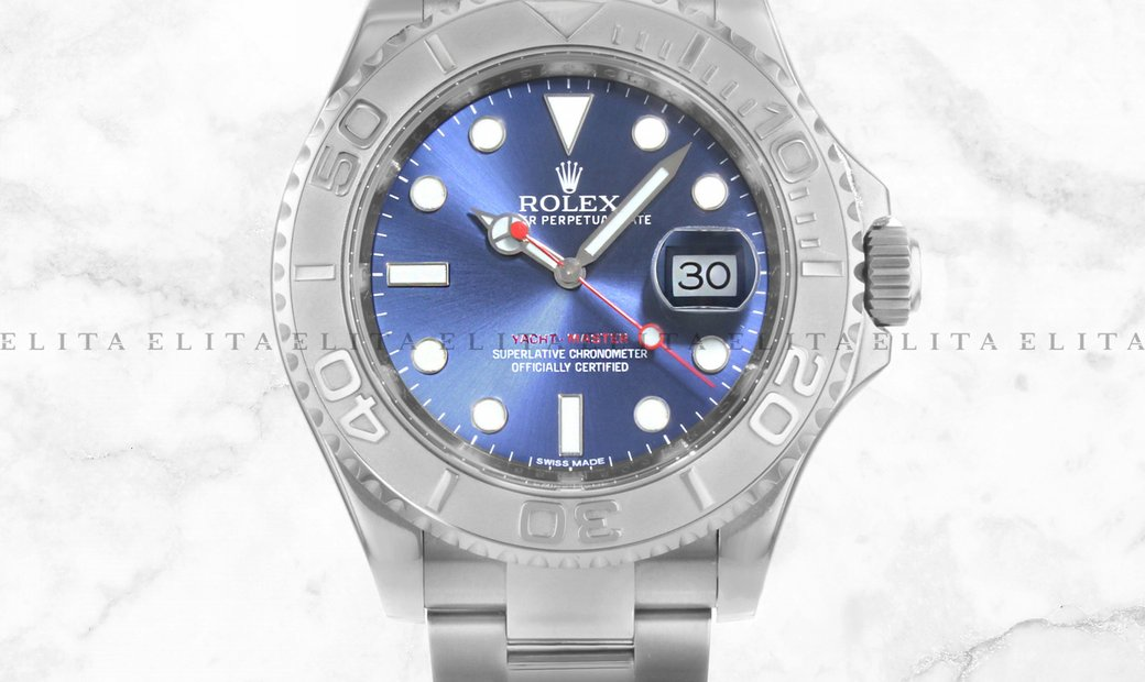 Rolex Yacht Master 40 126622-0002 Oystersteel and Platinum Blue Dial