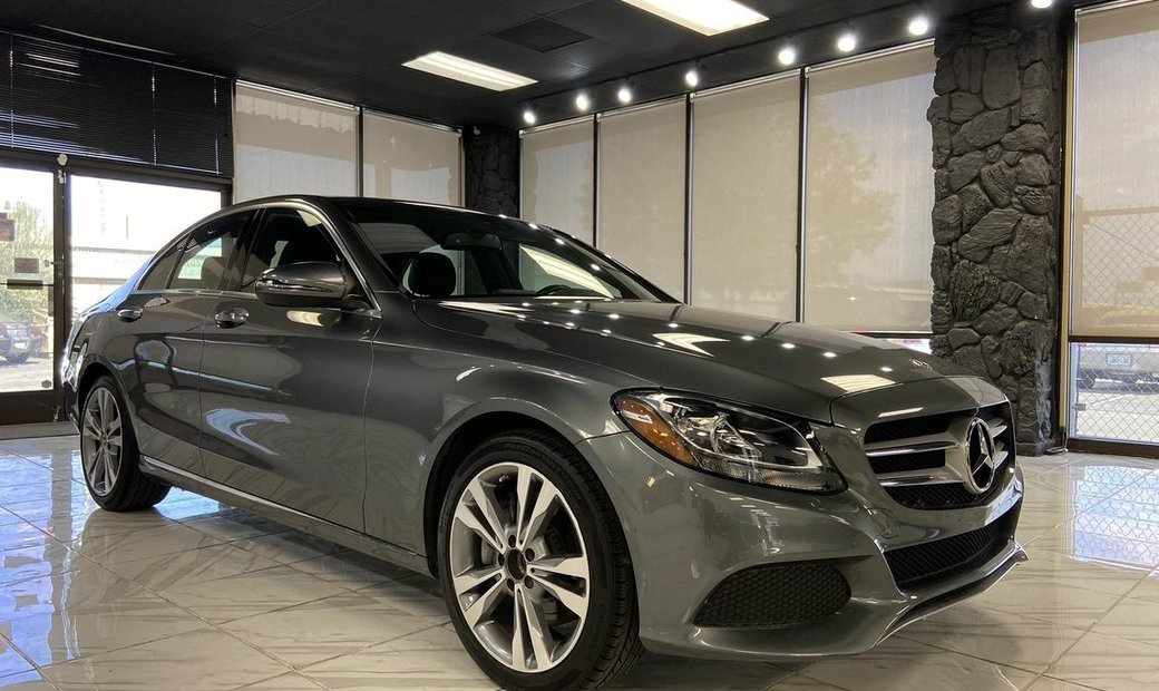 2018 Mercedes-Benz C-Class C 300 Sedan 4D