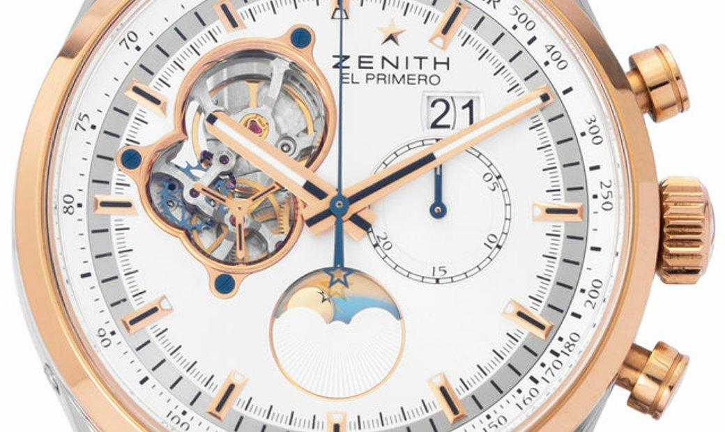 Zenith El Primero Chronomaster Grande Date  51.2160.4047/01.M2160, Baton, 2017, Very Go