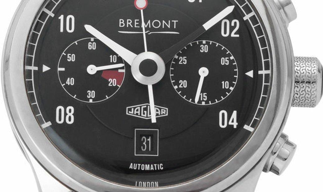 Bremont  Jaguar MKII Automatic Chronograph  BJ-II/BK, Arabic Numerals, 2015, Good, Case