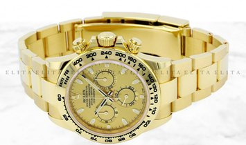Rolex Daytona 116508-0003 18Ct Yellow Gold Champagne Coloured Dial