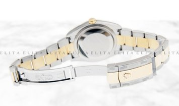 Rolex Datejust 36 126203-0030 Oystersteel and Yellow Gold White Dial Roman Numerals Oyster Bracelet