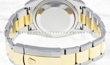 Rolex Datejust 36 126203-0020 Oystersteel and Yellow Gold White Dial Oyster Bracelet