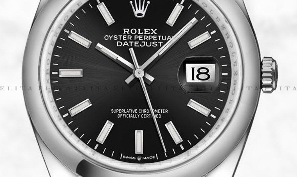 Rolex Datejust 36 126200-0003 Oystersteel Black Dial Jubilee Bracelet