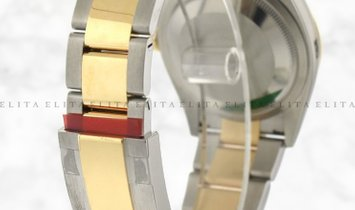Rolex Datejust 36 126203-0016 Oystersteel and Yellow Gold Champagne Coloured Dial Oyster Bracelet