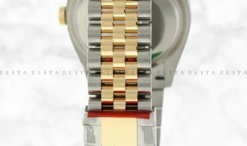 Rolex Datejust 36 126203-0015 Oystersteel and Yellow Gold Champagne Coloured Dial Jubilee Bracelet