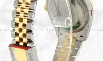 Rolex Datejust 36 126203-0029 Oystersteel and Yellow Gold White Dial Roman Numerals Jubilee Bracelet