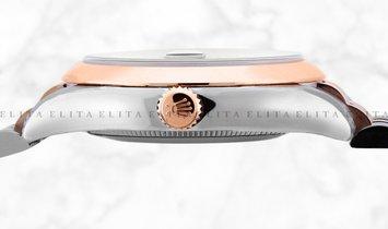 Rolex Datejust 36 126201-0015 Everose Rolesor White Dial Roman Numerals Jubilee Bracelet