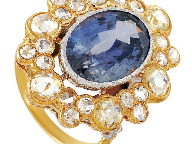 Buccellati Buccellati 18K Yellow Gold 2.50 ct Diamond and... (11148948)
