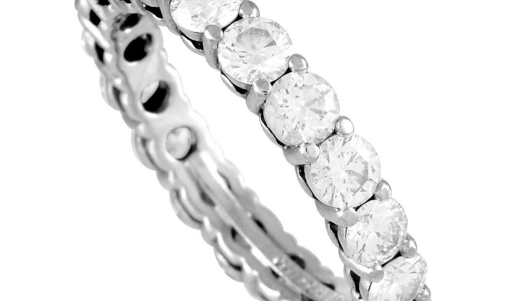 Tiffany & Co. Tiffany & Co. Platinum 1.60 ct Diamond Eternity Band