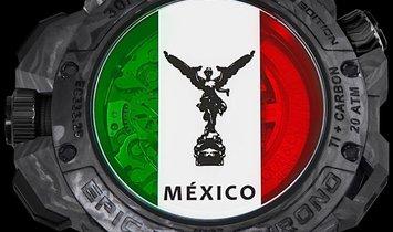 Jacob & Co. 捷克豹 [LIMITED 30 PIECE] Carbon EPIC-X Chrono Mexico
