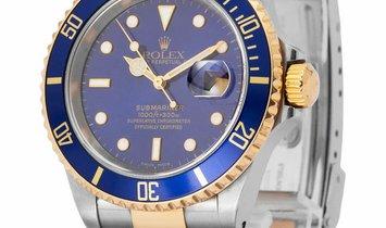 Rolex Submariner 16613, Baton, 2001, Good, Case material Steel, Bracelet material: Stee