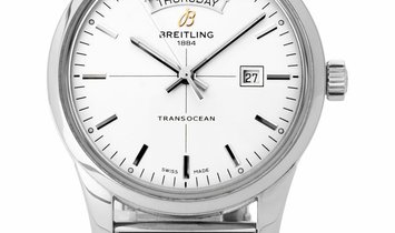 Breitling Transocean Day-Date A4531012.G751.154A, Baton, 2015, Very Good, Case material