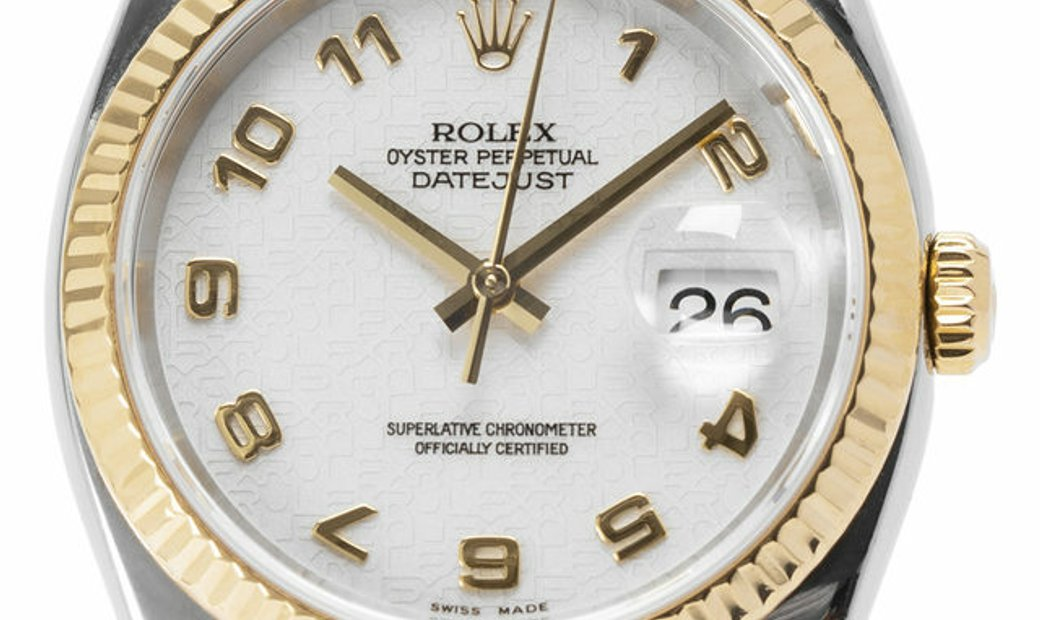 Rolex Datejust 116233, Arabic Numerals, 2006, Very Good, Case material Steel, Bracelet