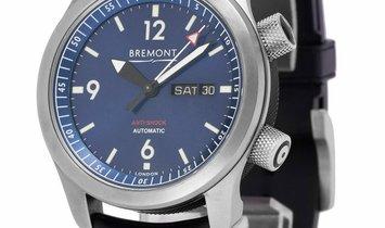 Bremont U-2 U-2/BL, Baton, 2014, Very Good, Case material Steel, Bracelet material: Rub