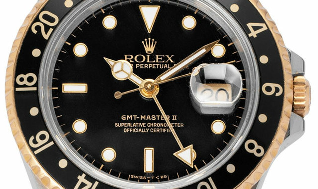 Rolex GMT-Master II 16713, Baton, 1991, Good, Case material Steel, Bracelet material: S