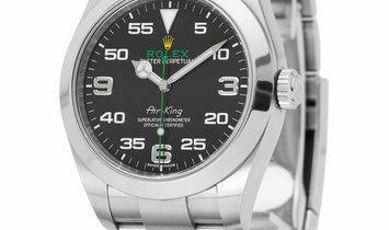 Rolex Air-King 116900, Arabic Numerals, 2016, Very Good, Case material Steel, Bracelet