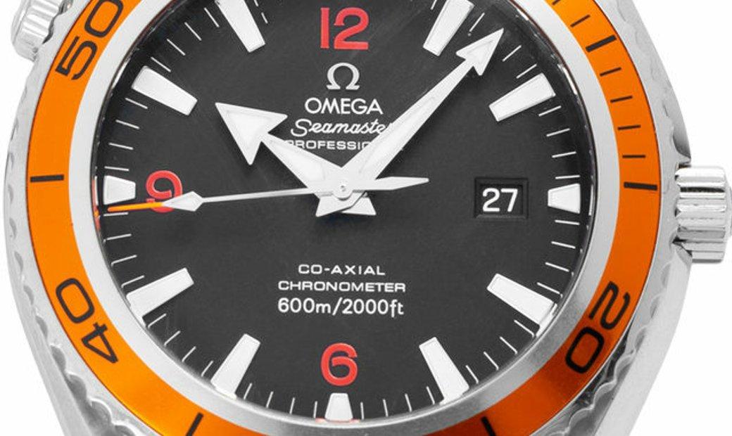 Omega Seamaster Planet Ocean 600 M 2208.50.00, Arabic Numerals, 2011, Very Good, Case m