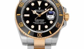 Rolex Submariner 116613LN, Baton, 2018, Very Good, Case material Steel, Bracelet materi