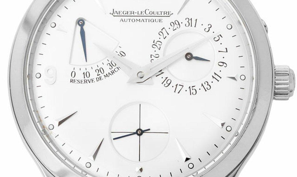 Jaeger-LeCoultre Master Reserve De Marche 140893S, Baton, 2004, Very Good, Case materia