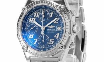 Breitling Chronomat A13050.1, Arabic Numerals, 1998, Good, Case material Steel, Bracele