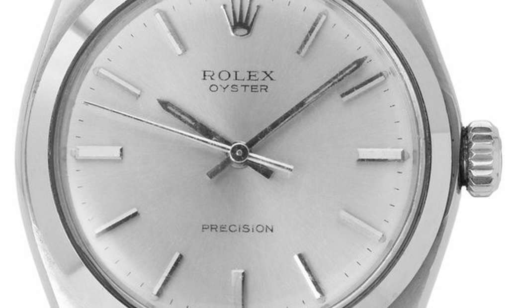 Rolex Oyster Precision 6426, Baton, 1977, Used, Case material Steel, Bracelet material: