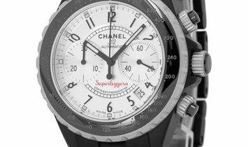 Chanel J12 Superleggera H2039 -H2681, Arabic Numerals, 2010, Used, Case material Cerami