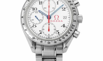 Omega Olympic Speedmaster 3513.20.00, Arabic Numerals, 2006, Good, Case material Steel,