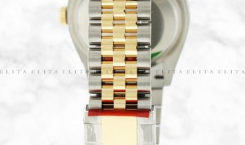 Rolex Datejust 36 126233-0029 Oystersteel and Yellow Gold White Dial Roman Numerals Jubilee Bracelet