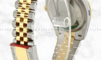 Rolex Datejust 36 126233-0021 Oystersteel and Yellow Gold Diamond Set Black Dial Jubilee Bracelet
