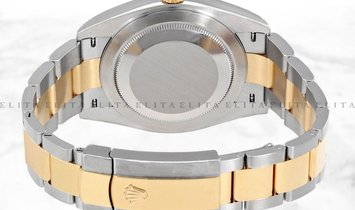 Rolex Datejust 36 126233-0032 Yellow Rolesor Diamond Set Silver Dial with Roman Numerals