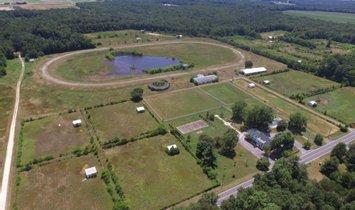 Corps de ferme à Seaford, Delaware, États-Unis 1
