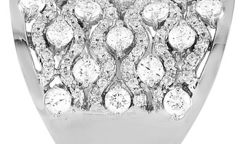 LB Exclusive LB Exclusive 18K White Gold 3.85 ct Diamond Ring