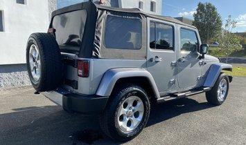 2014 Jeep Wrangler Unlimited Sahara Sport Utility 4D