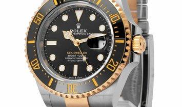 Rolex Sea-Dweller 126603, Baton, 2019, Very Good, Case material Steel, Bracelet materia