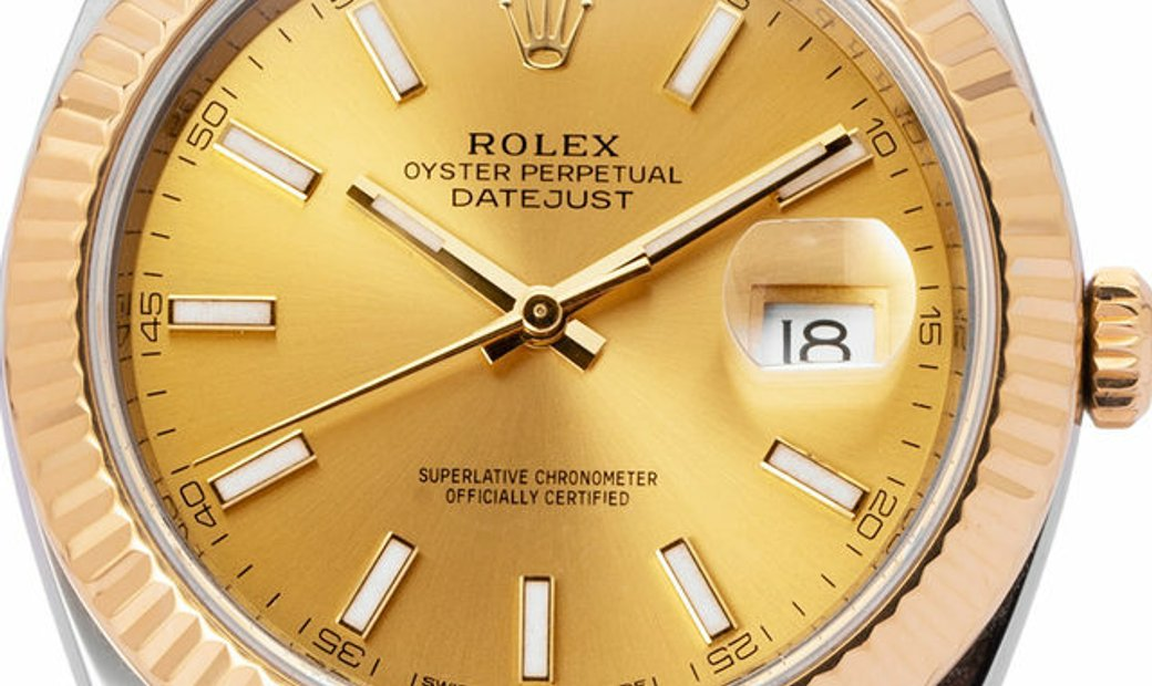 Rolex Datejust 126333, Baton, 2018, Very Good, Case material Steel, Bracelet material: