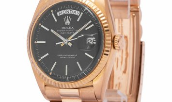Rolex Day-Date 1803, Baton, 1967, Used, Case material Rose Gold, Bracelet material: Ros