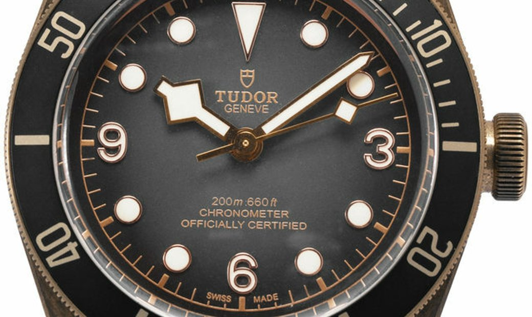 Tudor Heritage Black Bay 79250BA, Baton, 2020, Very Good, Case material Bronze, Bracele