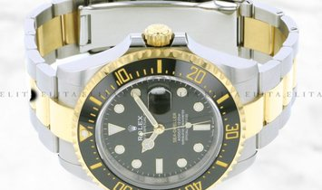 Rolex Sea-Dweller 126603-0001 Oystersteel and Yellow Gold  43mm Black Ceramic Bezel with Black Dial