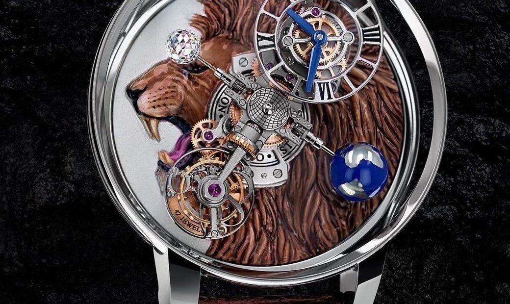 Jacob & Co. 捷克豹 [NEW MODEL] Astronomia Lion Tourbillon