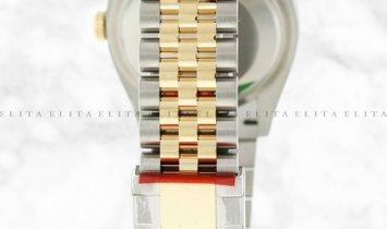 Rolex Datejust 36 126203-0027 Yellow Rolesor Diamond Set Silver Jubilee Design Dial Jubilee Bracelet