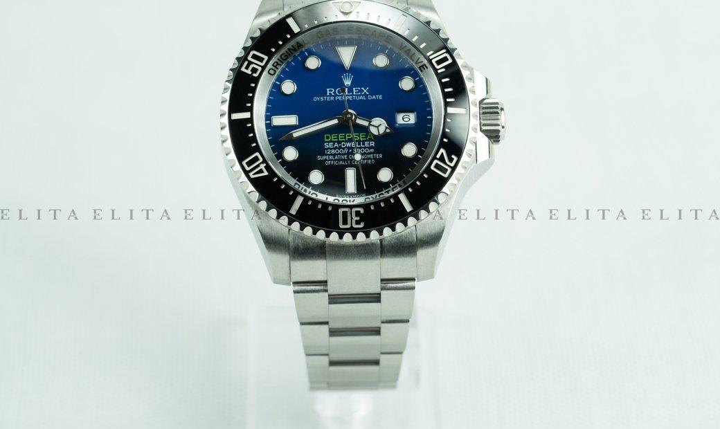 Rolex Sea-Dweller Deepsea 126660-0002 Oystersteel Blue Dial