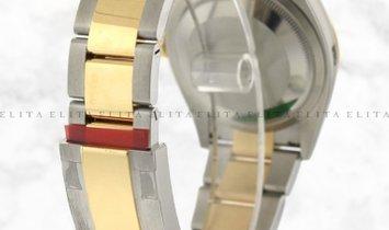 Rolex Datejust 36 126203-0028 Yellow Rolesor Diamond Set Silver Jubilee Design Dial Oyster Bracelet