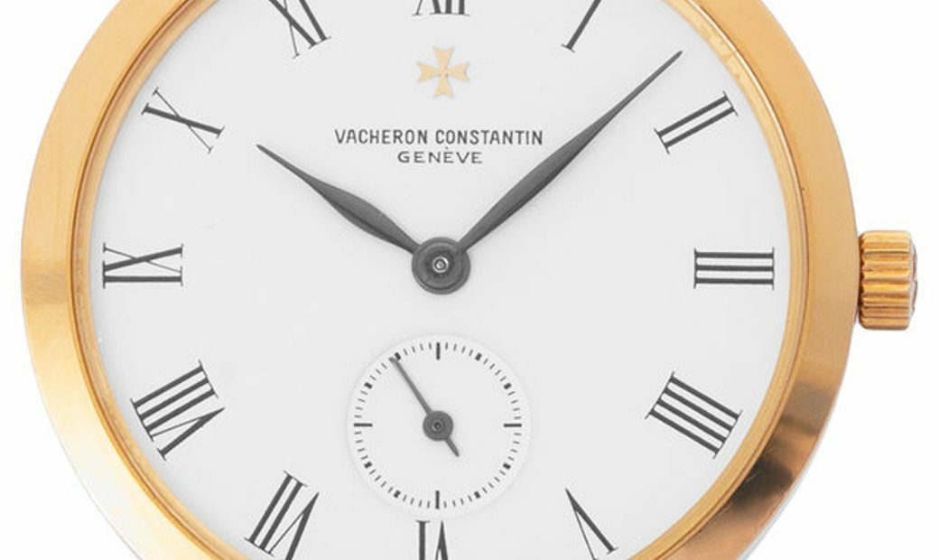 Vacheron Constantin Classic  92237, Roman Numerals, 1970, Good, Case material Yellow Go