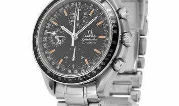 Omega Speedmaster Day-Date 3520.50.00, Baton, 1999, Used, Case material Steel, Bracelet
